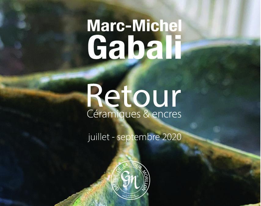 Exposition de Marc-Michel Gabali, «Retour»